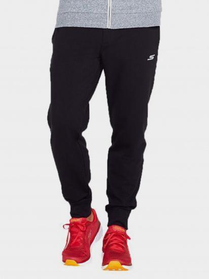 Спортивні штани Skechers модель M01PT17 BLK — фото - INTERTOP