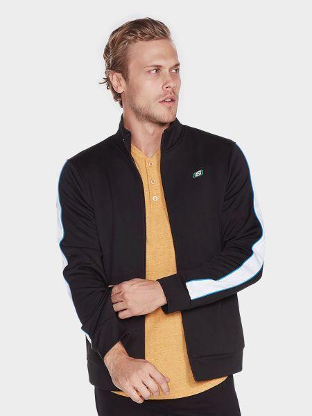 Купить Кофта спорт мужские модель EX81, Skechers, Черный