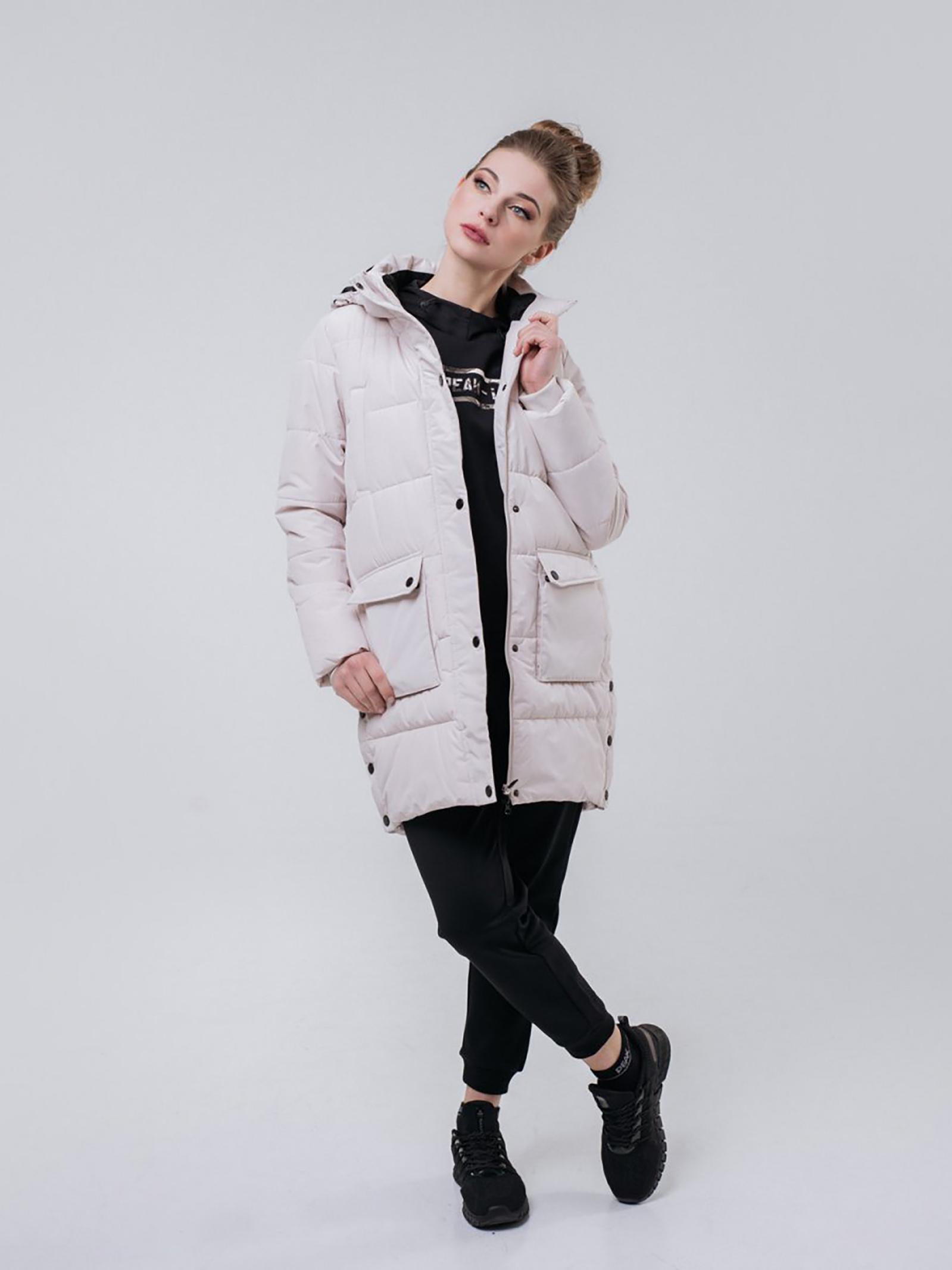 Peak Пальто жіночі модель FW594172-KHA якість, 2017