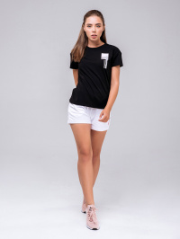Peak Футболка жіночі модель FW601352-BLA відгуки, 2017