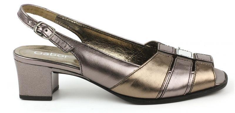 Босоножки женские Gabor 62.066-91 размерная сетка обуви, 2017