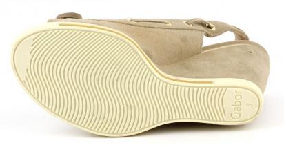 Босоножки женские Gabor 63.870-12 размеры обуви, 2017