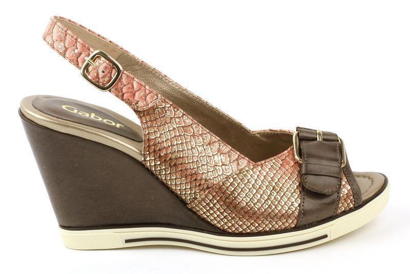 Босоножки женские Gabor 63.871-85 размерная сетка обуви, 2017