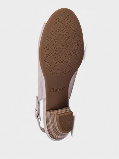 Босоніжки  жіночі Gabor 26.574.14 розміри взуття, 2017