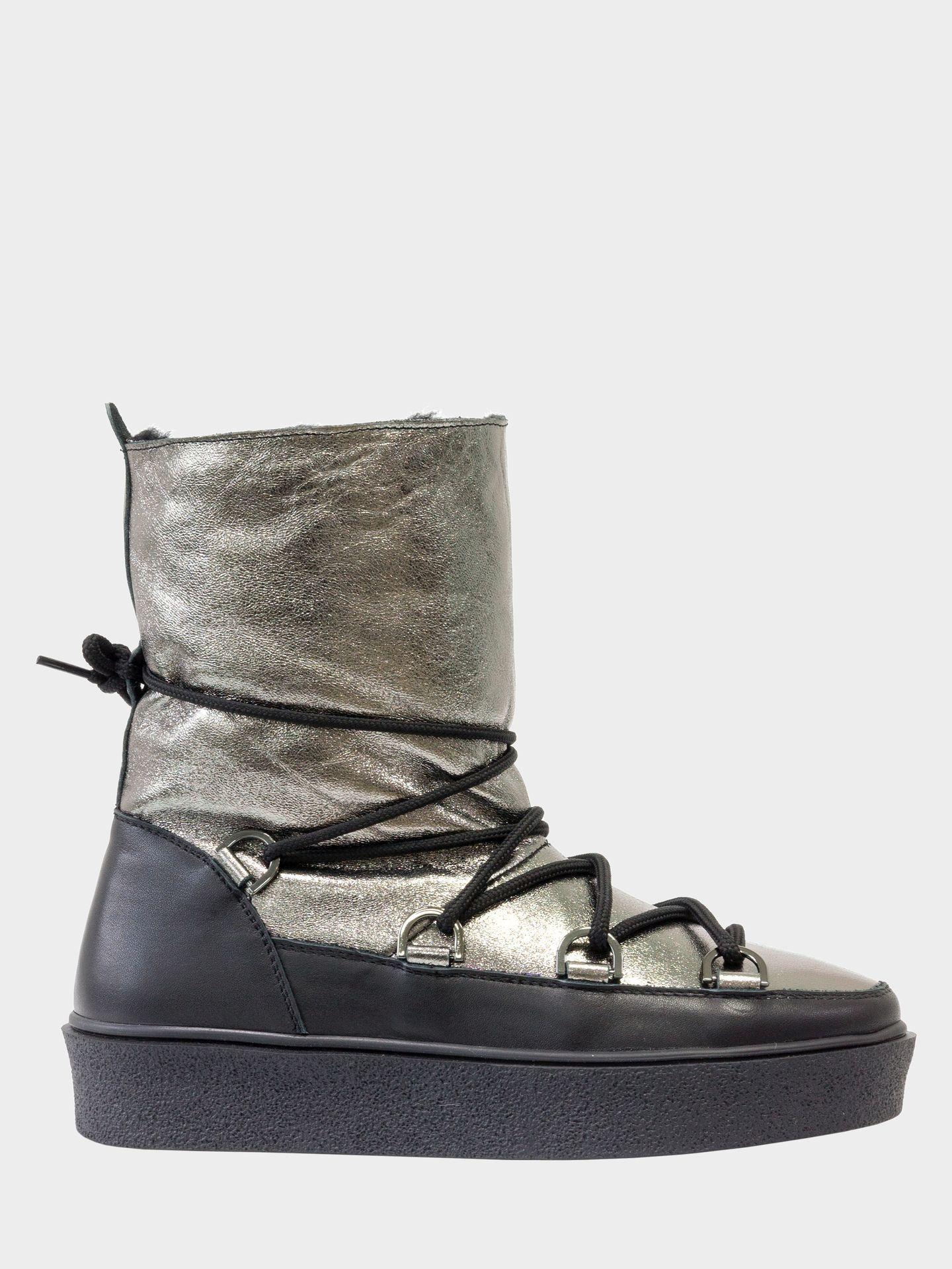 Сапоги женские Gino Figini GF-17112-02 модная обувь, 2017