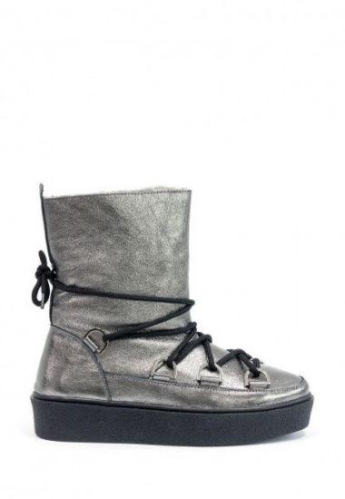 Сапоги для женщин Gino Figini GF-17112 модная обувь, 2017