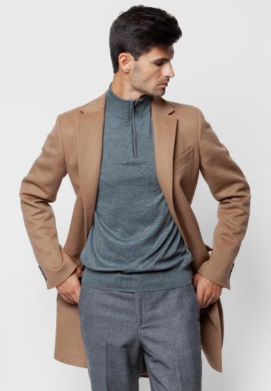 Пальто з утеплювачем Arber модель GK07.05.30 — фото - INTERTOP