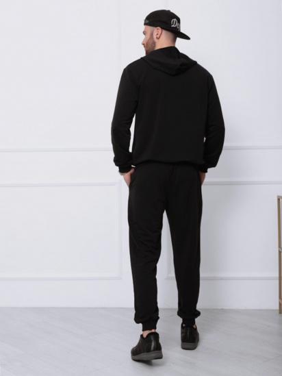 Спортивний костюм ISSA Plus модель GN-411_черный — фото 2 - INTERTOP