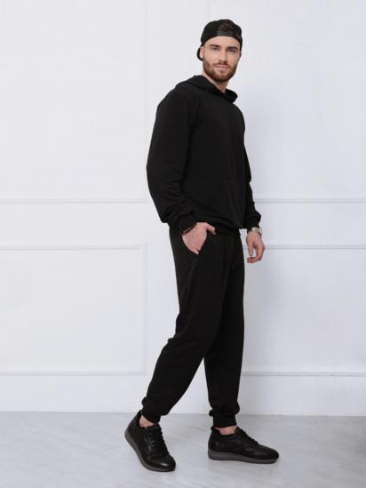 Спортивний костюм ISSA Plus модель GN-411_черный — фото 3 - INTERTOP
