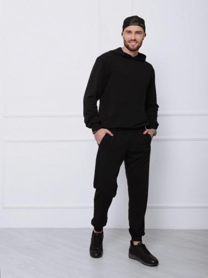 Спортивний костюм ISSA Plus модель GN-411_черный — фото - INTERTOP