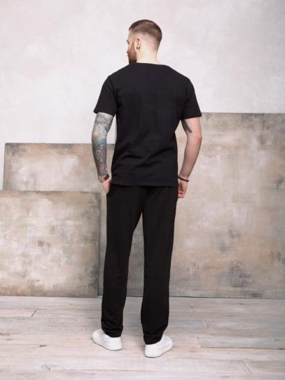 Спортивні штани ISSA Plus модель GN-407_черный — фото 2 - INTERTOP