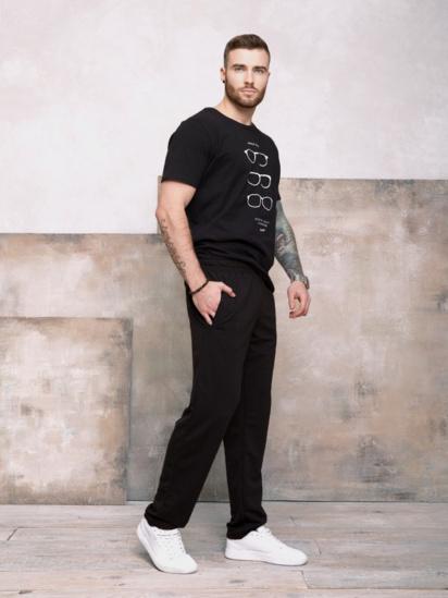 Спортивні штани ISSA Plus модель GN-407_черный — фото 3 - INTERTOP