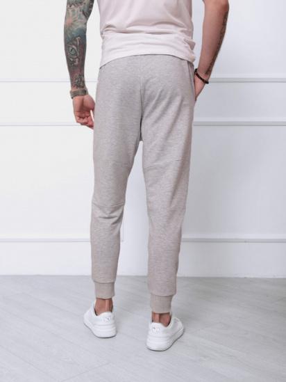Спортивні штани ISSA Plus модель SA-132_светло-серый — фото 2 - INTERTOP