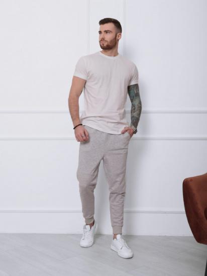 Спортивні штани ISSA Plus модель SA-132_светло-серый — фото 3 - INTERTOP