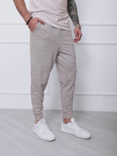 Спортивні штани ISSA Plus модель SA-132_светло-серый — фото - INTERTOP