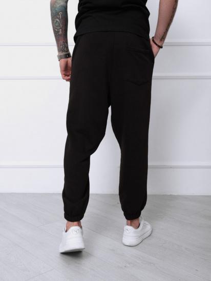 Спортивні штани ISSA Plus модель SA-133_черный — фото 2 - INTERTOP