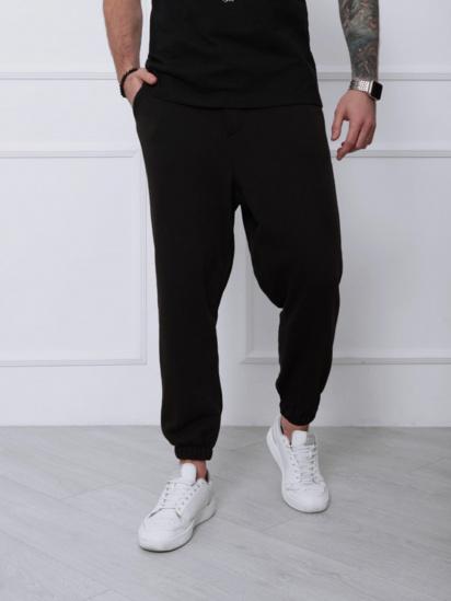 Спортивні штани ISSA Plus модель SA-133_черный — фото - INTERTOP