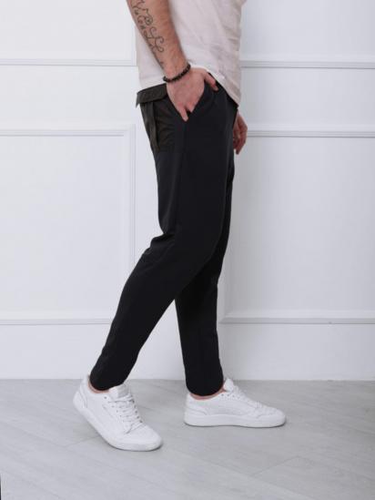 Спортивні штани ISSA Plus модель SA-141_синий — фото 4 - INTERTOP