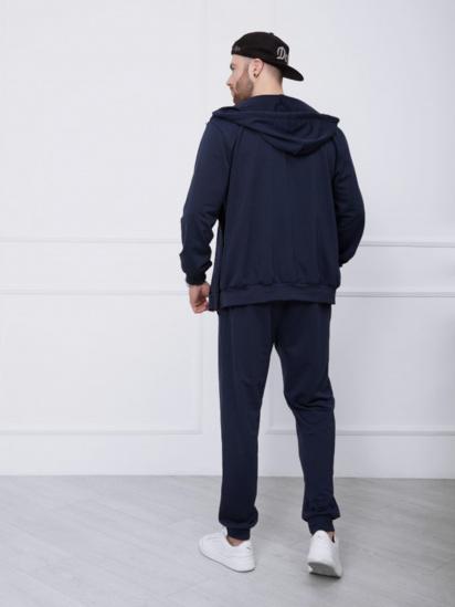 Спортивний костюм ISSA Plus модель GN-414_темно-синий — фото 2 - INTERTOP