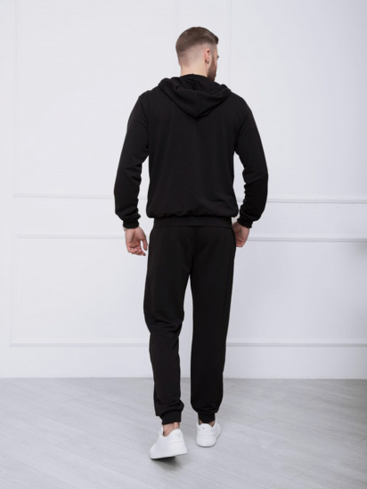 Спортивний костюм ISSA Plus модель GN-414_черный — фото 2 - INTERTOP