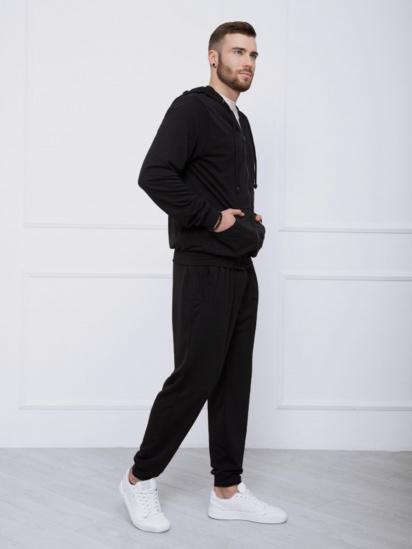 Спортивний костюм ISSA Plus модель GN-414_черный — фото 3 - INTERTOP