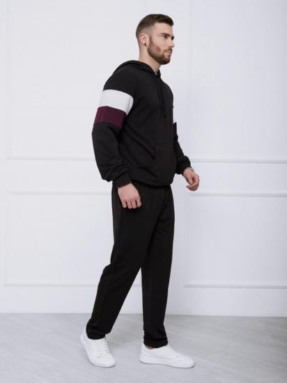 Спортивний костюм ISSA Plus модель GN-415_черный — фото 3 - INTERTOP