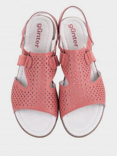 Сандалі  для жінок Gunter 912-2318/103 брендове взуття, 2017