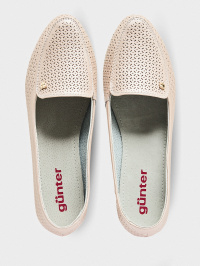 Слипоны для женщин Gunter 212-0152/118 брендовая обувь, 2017