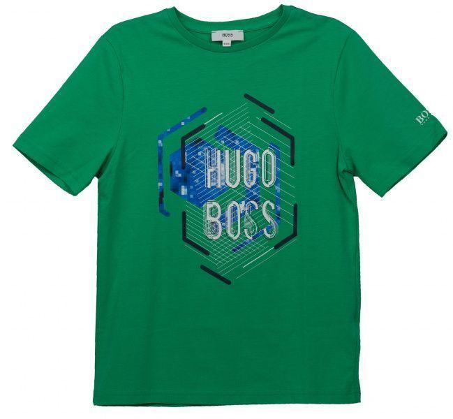Купить Футболка детская Boss модель HO574, Зеленый