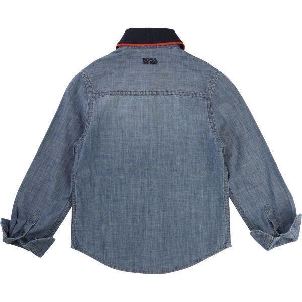 Boss Рубашка с длинным рукавом детские модель HO594 приобрести, 2017