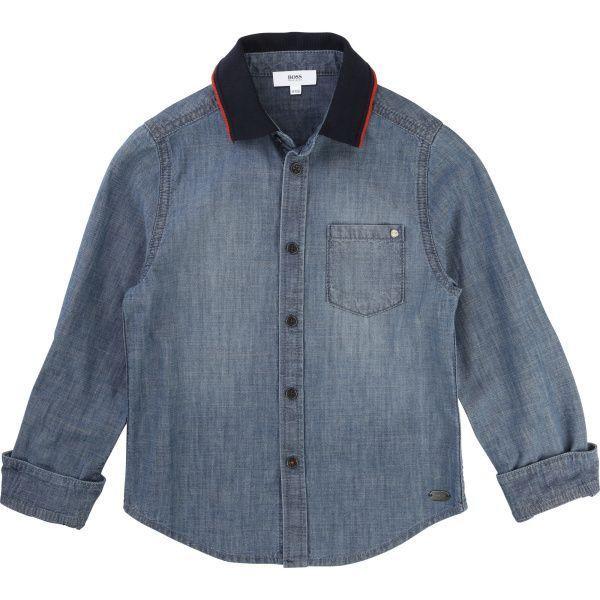 Boss Рубашка с длинным рукавом детские модель HO594 качество, 2017