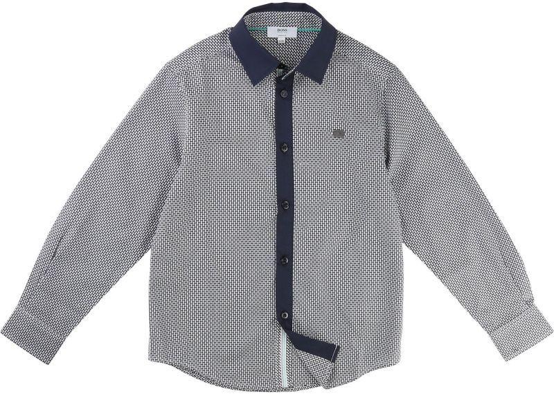 Boss Рубашка с длинным рукавом детские модель HO618 качество, 2017