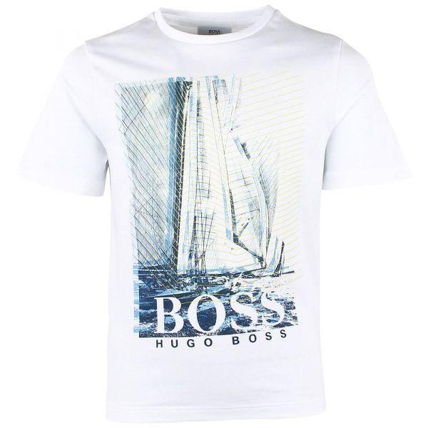 Купить Футболка детская Boss модель HO682, Белый