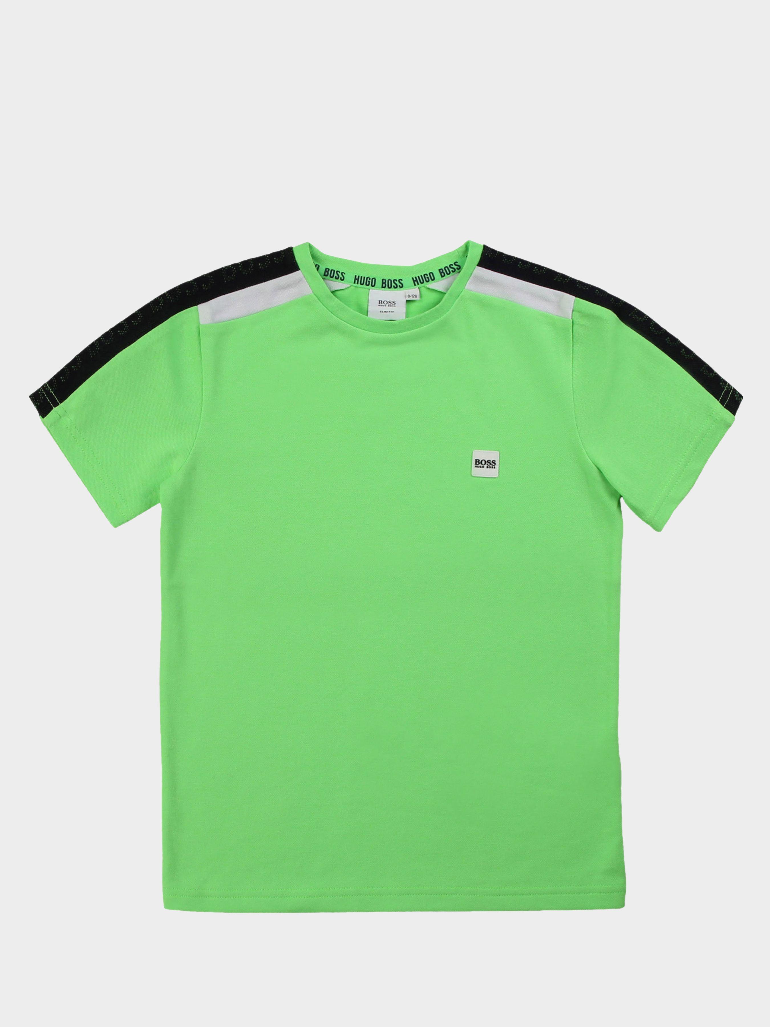 Купить Футболка детские модель HO793, Boss, Зеленый