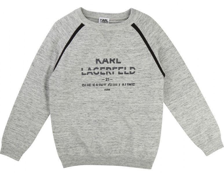 KARL LAGERFELD Пуловер детские модель HR117 отзывы, 2017