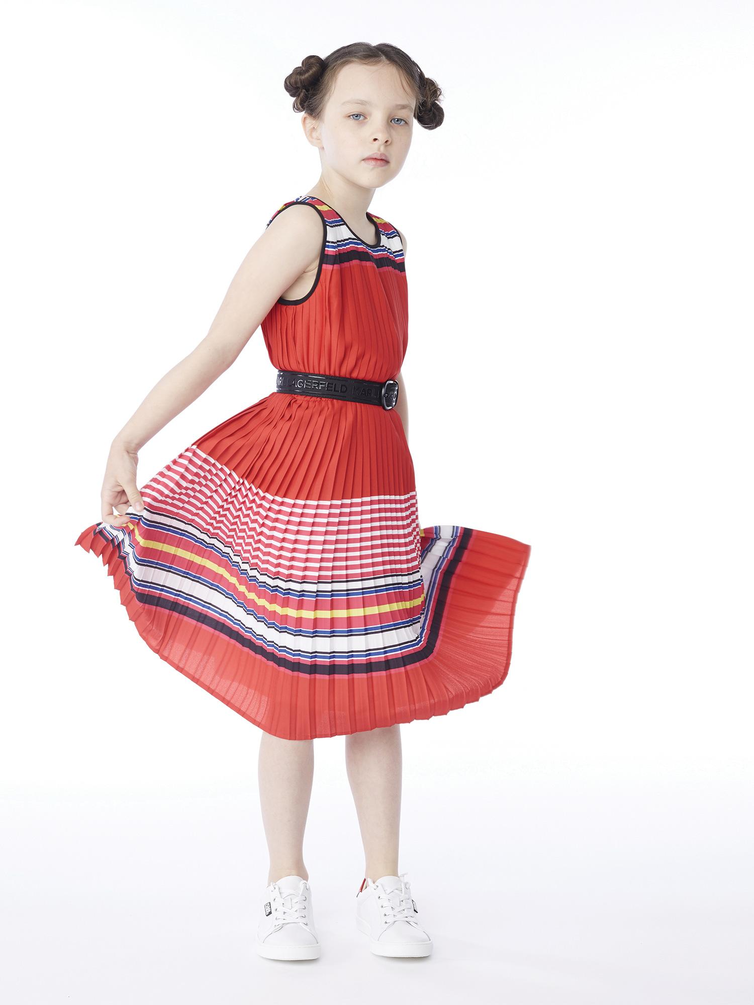 Платье детские KARL LAGERFELD модель HR241 отзывы, 2017
