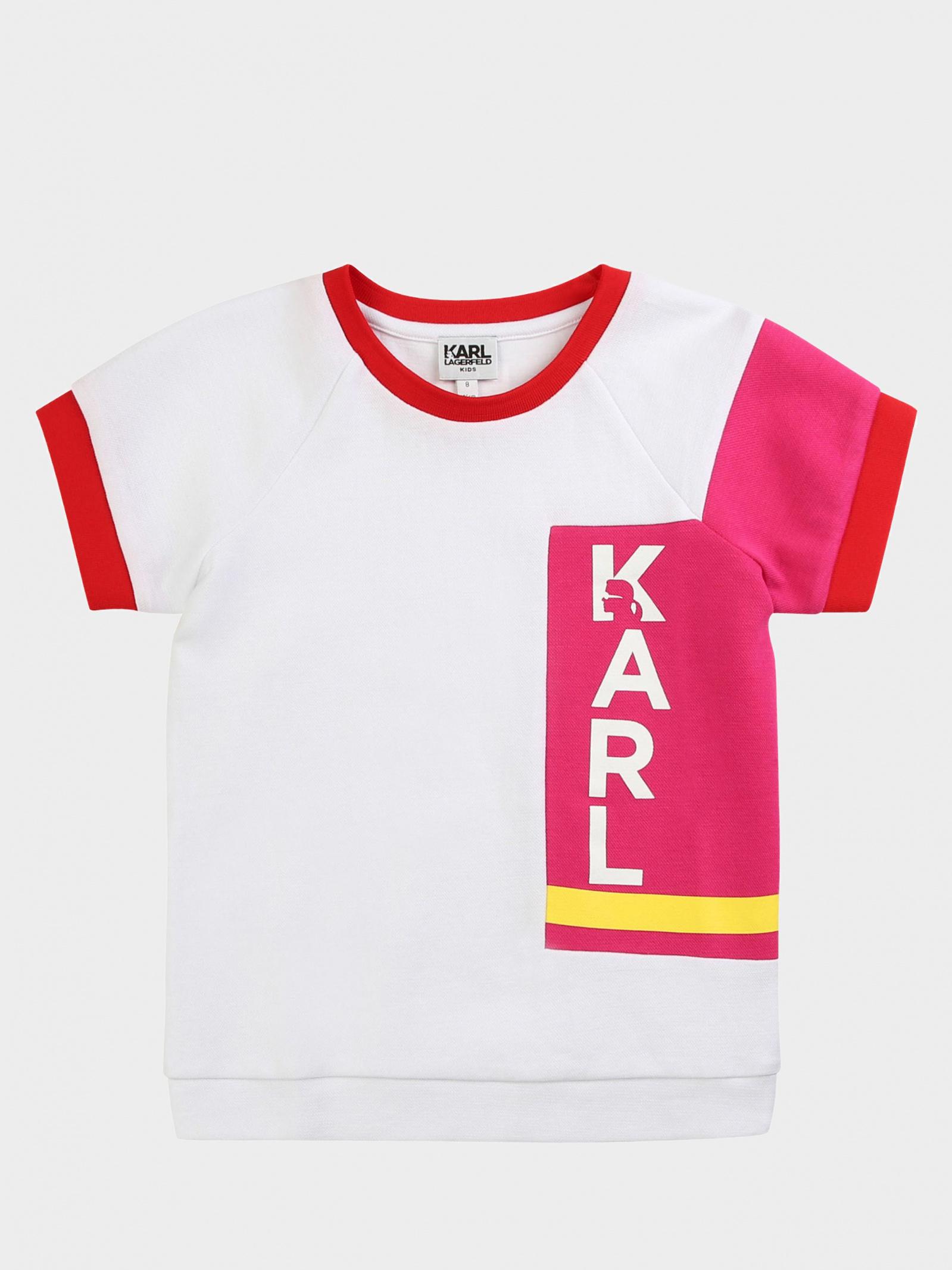 Футболка детские KARL LAGERFELD модель HR250 отзывы, 2017
