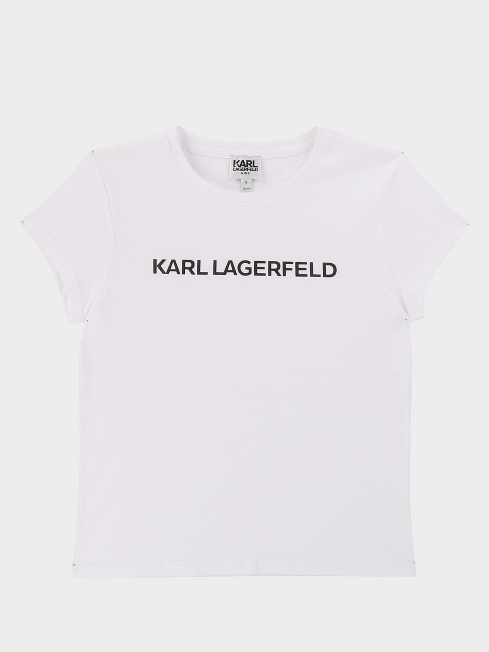 Футболка детские KARL LAGERFELD модель HR253 отзывы, 2017