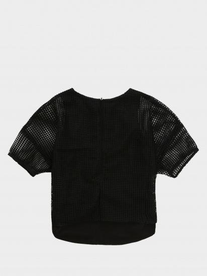 Блуза з коротким рукавом KARL LAGERFELD модель Z15246/09B — фото 2 - INTERTOP