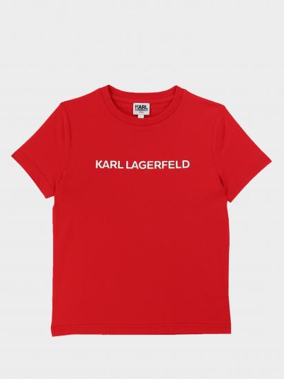 Футболка KARL LAGERFELD модель Z25219/988 — фото - INTERTOP