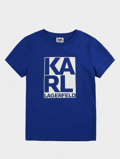 Футболка KARL LAGERFELD модель Z25222/829 — фото - INTERTOP