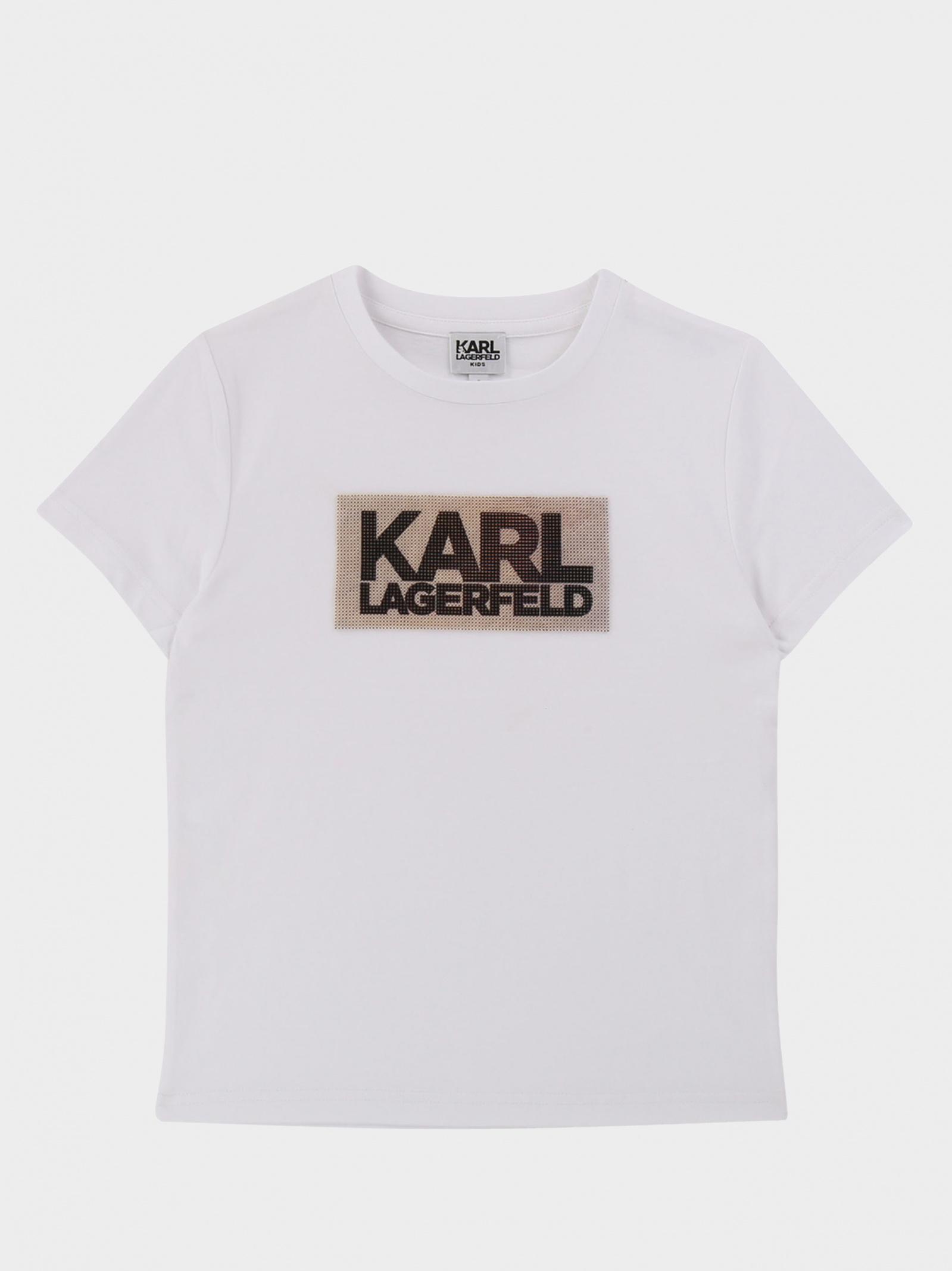 Футболка детские KARL LAGERFELD модель HR280 отзывы, 2017