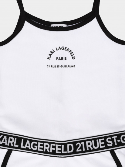 Комбінезон Karl Lagerfeld Kids модель Z14158/10B — фото 3 - INTERTOP