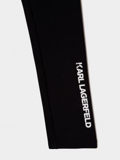 Легінси Karl Lagerfeld Kids модель Z14164/09B — фото 3 - INTERTOP