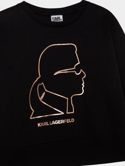 Світшот Karl Lagerfeld Kids модель Z15342/09B — фото 4 - INTERTOP