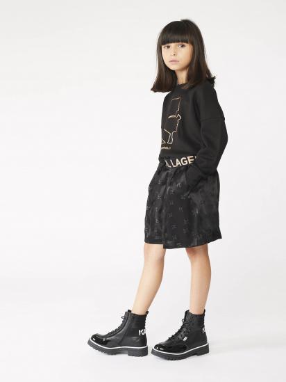 Світшот Karl Lagerfeld Kids модель Z15342/09B — фото - INTERTOP
