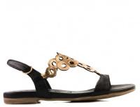 Сандалии для женщин Tamaris 28102-28-059 black/rose met модная обувь, 2017