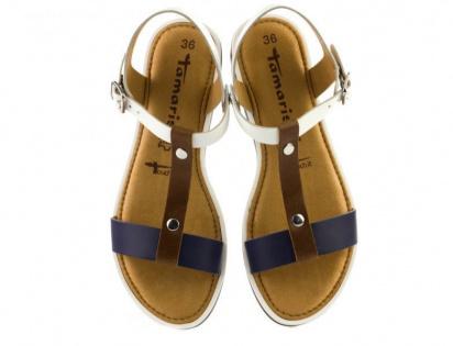 Сандалии для женщин Tamaris 28120-28-197 white comb брендовая обувь, 2017