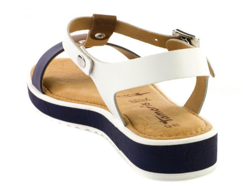 Сандалии для женщин Tamaris 28120-28-197 white comb цена обуви, 2017