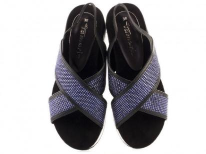 Сандалии для женщин Tamaris 28703-38-893 nt. blue gl/blk размерная сетка обуви, 2017